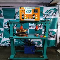 Double Die Buffet Plate Making Machine