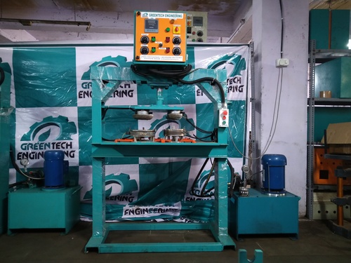 Four Die Disposable Plate Making Machine