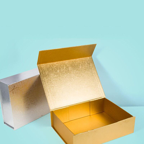 Plain Cardboard Folding Rigid Box