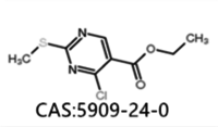 Ethyl 4-chloro-2-methylthio-5-pyrimidinecarboxylate CAS NO./Number :5909-24-0
