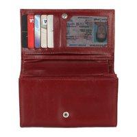 Genuine Brown Leather Wallet Ladies