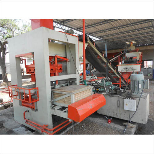Semi Auto Fly Ash Brick Machine