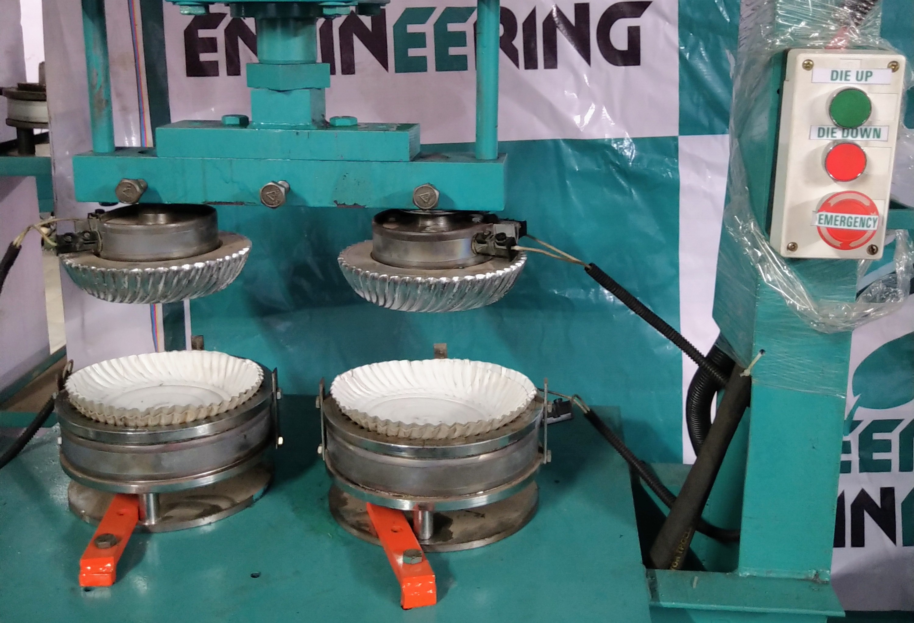 Single Phase Paper Dish Making Machine
