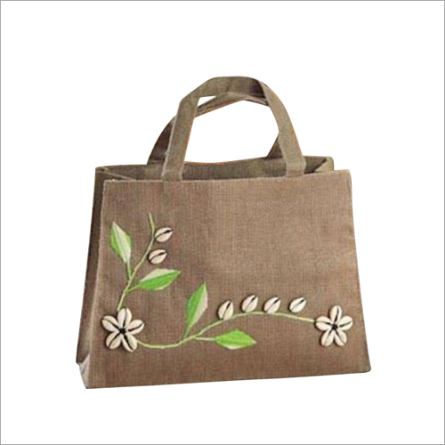 Ladies Jute Fancy Shoulder Bag