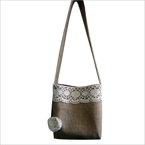 Ladies Jute Shoulder Bag