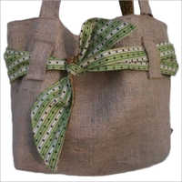 Ladies Jute Stylish Shoulder Bag