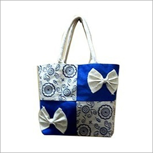 Jute Shoulder Shopping Bag