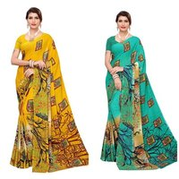 New Georgette saree