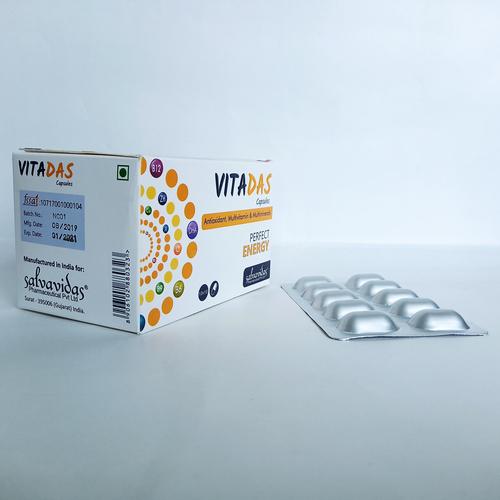 Antioxidant, Multivitamin & Multiminerals Tablets