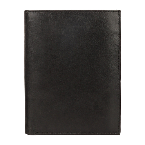 Genuine Black Leather Wallet Ladies