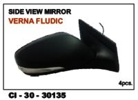 Side View Mirror Verna Fludic