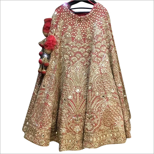 Bridal Heavy Embroidered Work Lehenga