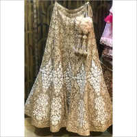 Ladies Golden Designer Lehenga