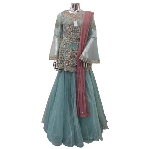 Ladies Net Lehenga