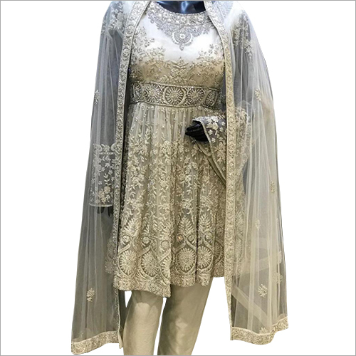 Ladies Embroidered Bridal Suit