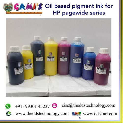Oil Based Nano Pigment Inks
