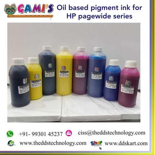 Oil Based Nano Pigment Ink