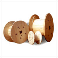 Pine Wood Cable Drum