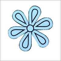Floral Label Cutting Die