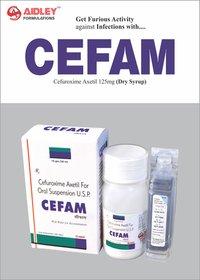 Cefuroxime 125 mg/5ml Dry Syrup
