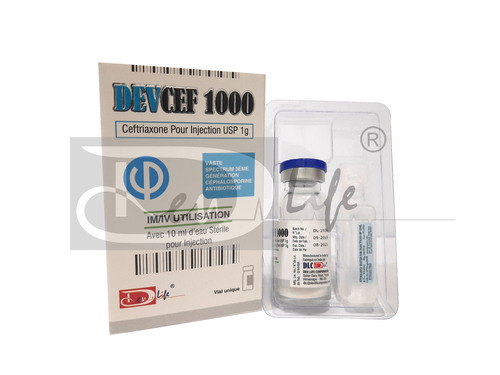 Ceftriaxone For Injection USP 1g