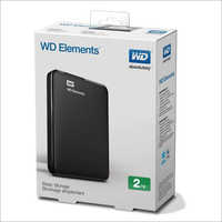 2TB WD Portable Elements