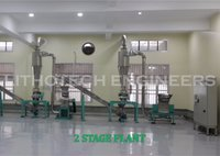 Two stage Spice grinding machine