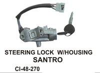 Steering Lock W/ Housing Santro