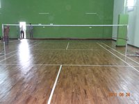Badminton Court Teak Wood Flooring