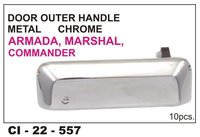 Door Outer Handle Metal Chrome, Armada,Marshal,Commander
