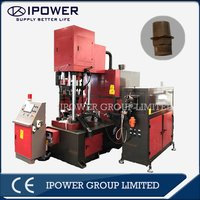 Vertical Hot Forging Press Machine for Two Way LPG Valve