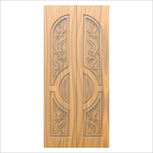 3D Carved Exterior Wooden Door