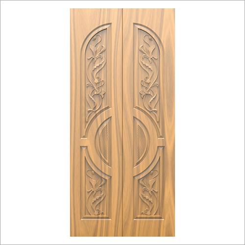 3D Carved Exterior Wooden Door