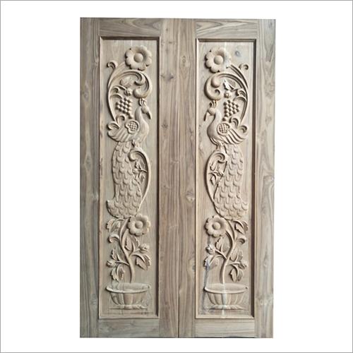 Hardwood Carved Wooden Door