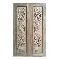 Hardwood Carved Wooden Door