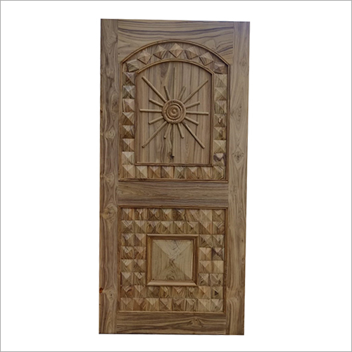 3D Carved Wooden Flush Door