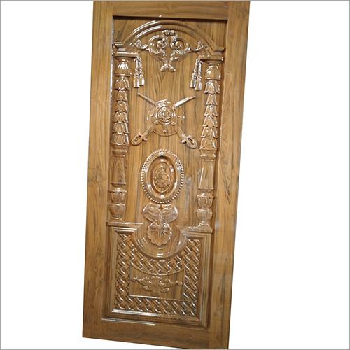 3D Carved Wooden Designer Door