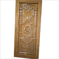 3D Carved Wooden Designer Door