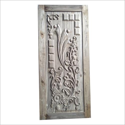 3D Carved Teak Wood Door