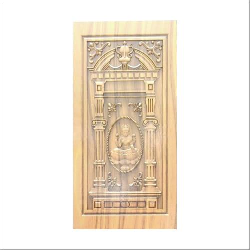 3D Carved Designer Wooden Door