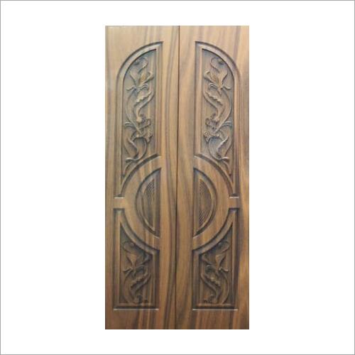 3D Carved Entrance Wooden Door