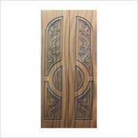 3D Carved Entrance Wooden Door