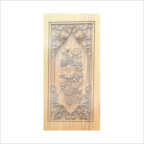 3D Carved Main Wooden Door