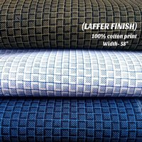 Laffer Finish 100% Cotton Print Shirt Fabric