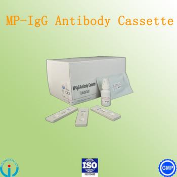 Mycoplasma Pneumoniae(MP)-IgG Cassette