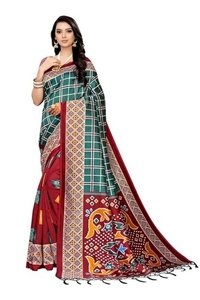 New beautiful print Mysore Silk saree