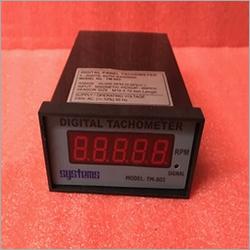 Digital Panel Mount Tachometer With Magnetic Pick Up Sensor