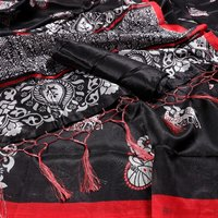 New Mysore Silk saree with jhalar