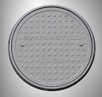 Circular FRP  MANHOLE COVER DIA 530-with Load Capacity of 40 Ton