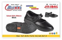 GIRL  Shoe BLACK WELCRO